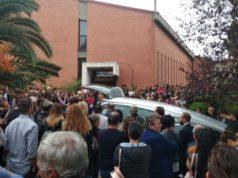 I funerali del 17enne Elia Corrina alla chiesa della Sacra Famiglia di Osimo