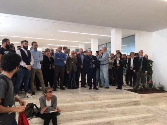 L'inaugurazione del ristrutturato dipartimento di agraria ad Ancona
