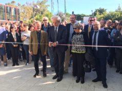 Il taglio del nastro della ristrutturata facoltà di agraria dell'Università Politecnica delle Marche