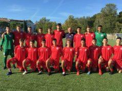 L'Under19 - juniores - dell'Anconitana, allenati da Stefano Belardinelli