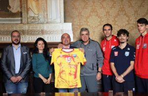 La presentazione della nuova maglia della Nef Volley Osimo