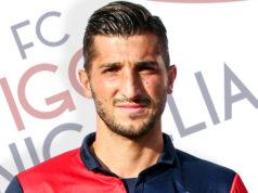 Michele Carbonari, in gol nel match di andata