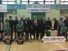 Basket in carrozzina, presentata la squadra del S.Stefano-Avis