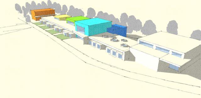 Il progetto della nuova scuola a Sassoferrato