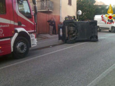 L'incidente avvenuto a San Biagio di Osimo