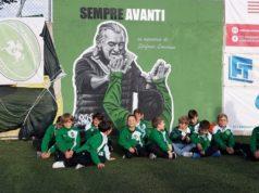 Il murales intitolato a Stefano Lucarini