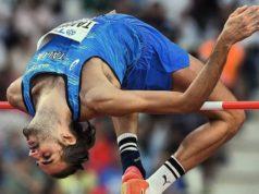 Gianmarco Tamberi ai mondiali di Doha in Qatar