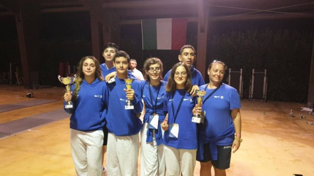 I ragazzi marchigiani della scherma impegnati al Trofeo Coni a Crotone