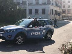 I controlli della Polizia di Ancona in piazza Cavour