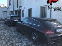 La Mercedes utilizzata dal 40enne napoletano