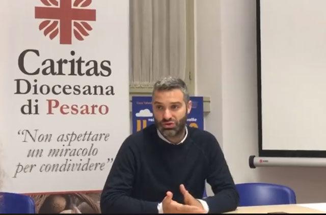 Andrea Mancini, coordinatore Caritas di Pesaro