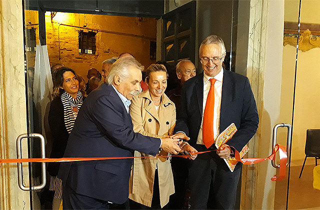 Civitanova Alta: Luca Ceriscioli all'inaugurazione della 21esima edizione di Cartacanta
