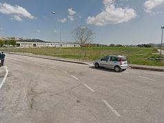 L'area di via Pigini a Cerretano di Castelfidardo, al centro di un progetto di riqualificazione sia della pista Garofoli, sia del parco, con la realizzazione di un centro polisportivo