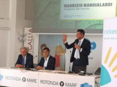 """Maurizio Mangialardi, sindaco di Senigallia, al convegno """"Le città del futuro"""""""