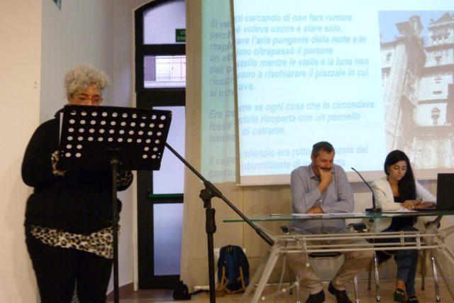 """Presentazione del libro """"Sette piccole storie"""" di Giancarlo Esposto al Centro Pergoli di Falconara Marittima"""