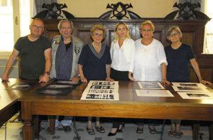 La giuria del concorso fotografico Mario Carafoli a Corinaldo