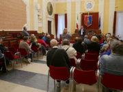 """L'incontro tra il sindaco di Senigallia Maurizio Mangialardi e il comitato """"tombe ipogee"""""""