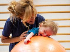 L'attività fisioterapica nelle palestre del centro nazionale della Lega del Filo d'Oro