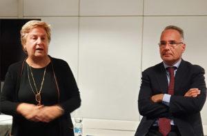 Marina Magistrelli e Maurizio Miranda