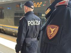 La Polizia Ferroviaria alla stazione di Ancona