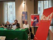 Da sin. gli assessori Tiziana Borini, Paolo Marasca ed Emma Capogrossi