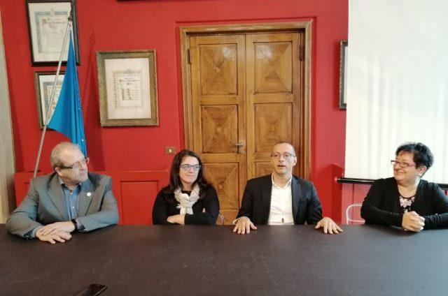 La conferenza stampa del sindaco Ricci e la consigliera Frenquellucci