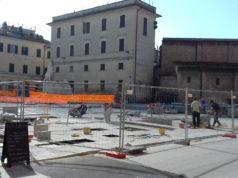 Jesi, piazza Pergolesi
