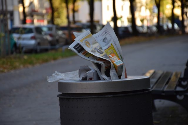 cestino, rifiuti, immondizia, raccolta differenziata