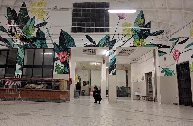 Osimo, il Mercato delle erbe è diventato un'opera d'arte pubblica