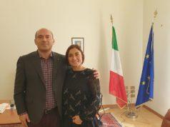 Il sindaco di Osimo con l'onorevole Alessia Morani