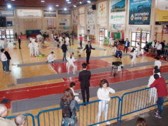 Campionato di scherma al Palasport di via Capanna a Senigallia - foto Club Scherma Montignano-Marzocca-Senigallia A.s.d.