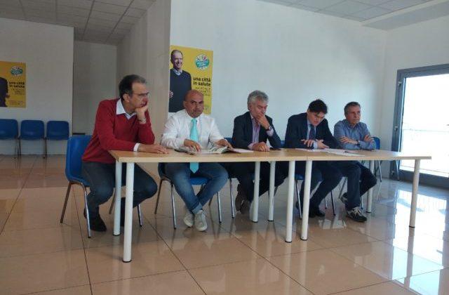 Osimo, Ginnetti raduna i candidati sindaco Latini e Pugnaloni