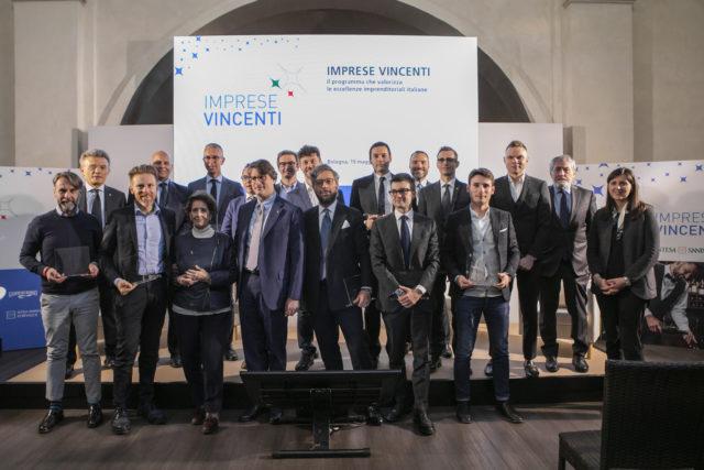 """""""Imprese vincenti"""", 4 marchigiane premiate a Bologna su 120 italiane"""