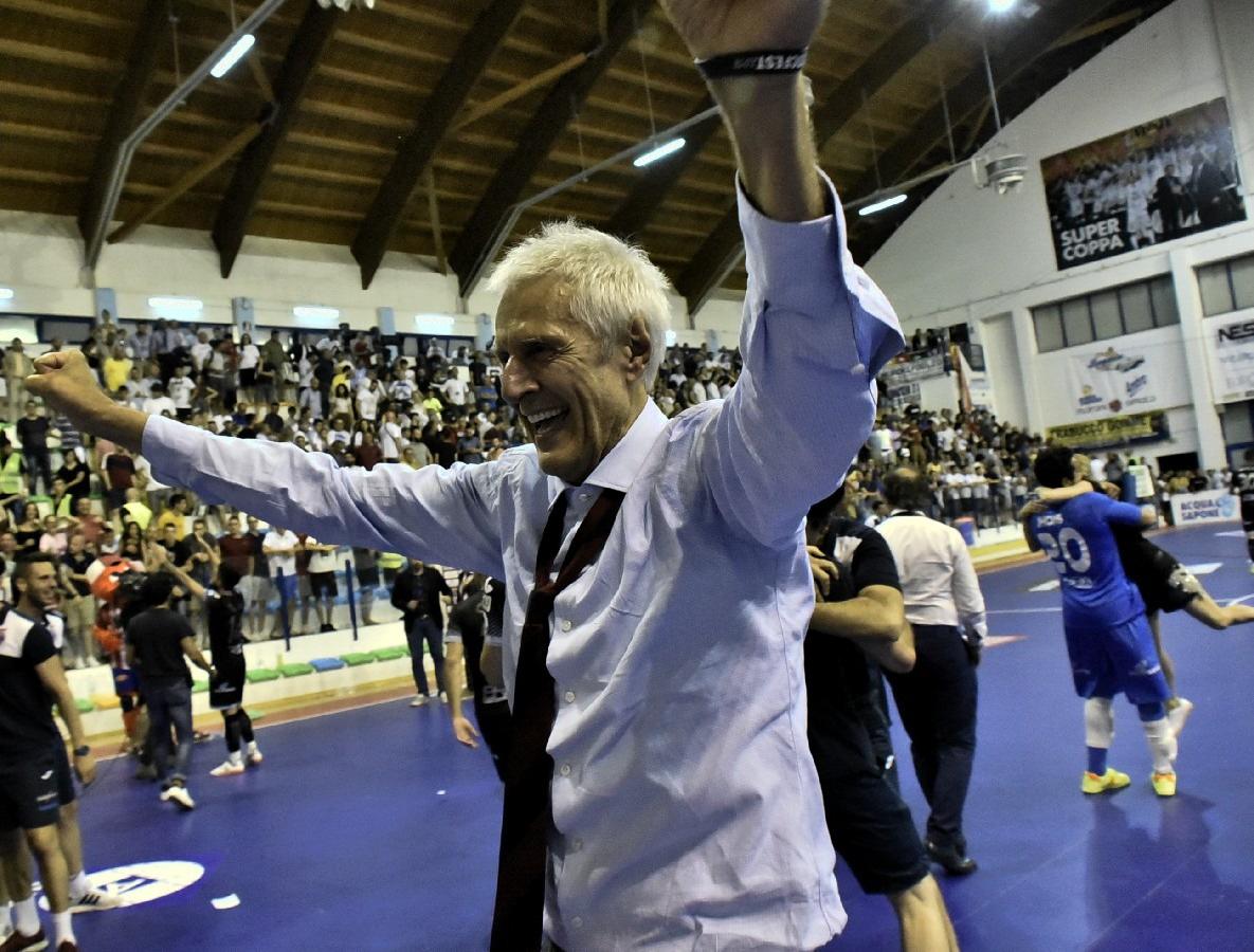 Italservice Pesaro calcio a 5: intervista a mister Fulvio Colini