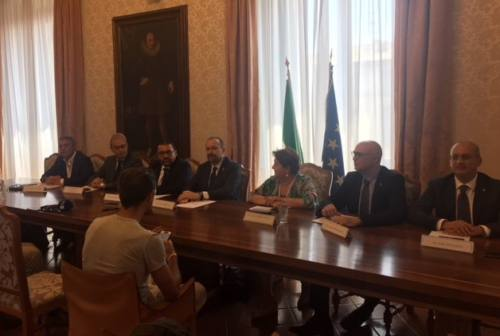 Ancona: aree di crisi complessa, audizioni della X Commissione del Senato in prefettura