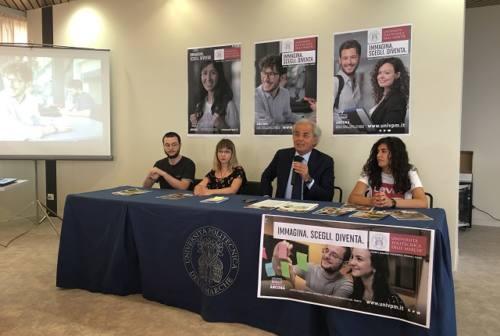 """""""Immagina, scegli, diventa"""": studenti protagonisti della campagna di comunicazione Univpm"""