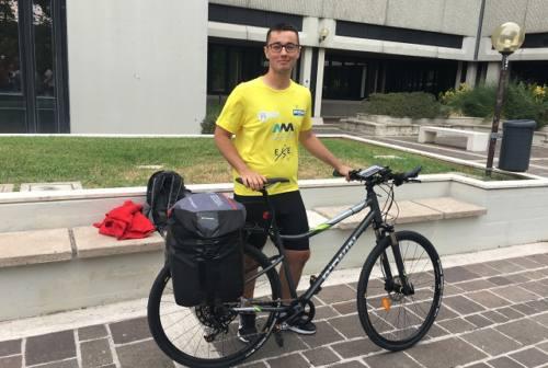 Da Ancona a Capo Nord in bicicletta: la grande sfida di Kyrylo Morresi