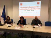 Nella foto da sin.: Elisa Marchetti, Daniela Barbaresi, Giuseppe Santarelli