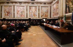 La presentazione del del libro Donne Crocifisse di don Aldo Buonaiuto all'Oratorio della Carità di Fabriano