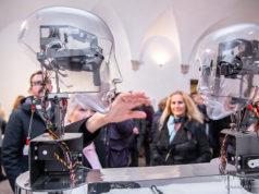 """Inaugurata alla Rocca Roveresca di Senigallia la mostra """"Arte e suono, opere interattive e sonore dall'elettronica alla robotica"""". Foto di Patrizia Lo Conte"""