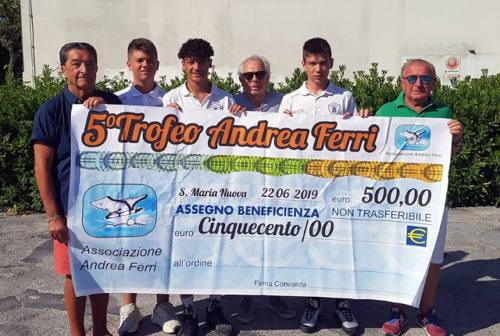 Calcio e beneficenza, donazione della Vigor alla Lega del Filo D'Oro