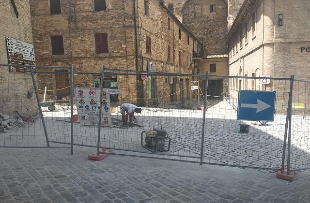 Osimo, proseguono i lavori in centro e nelle periferie