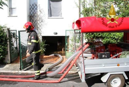 Maltempo, quasi 400 interventi dei Vigili del fuoco in appena 24 ore