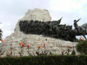 Il monumento della Battaglia, simbolo della città