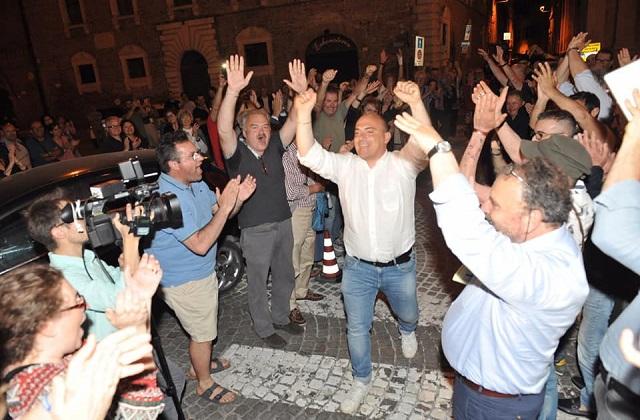 Osimo, Simone Pugnaloni: «Ha vinto la sincerità e la trasparenza. Sarò il sindaco di tutti»