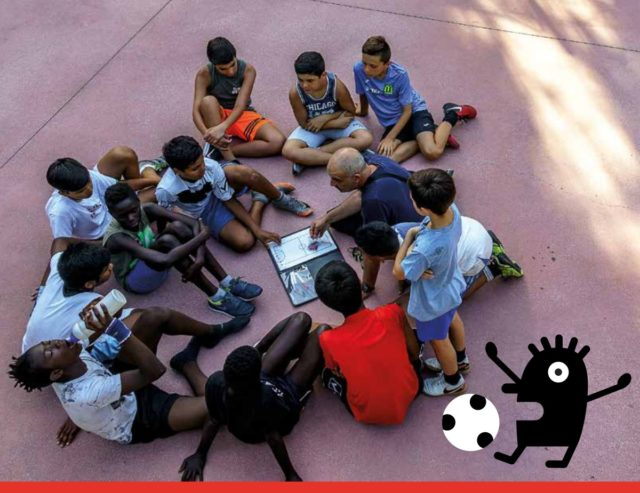 Educalci: socializzazione e due calci ad un pallone