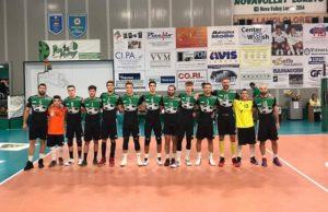 La Sampress Nova Volley Loreto in vetta alla classifica