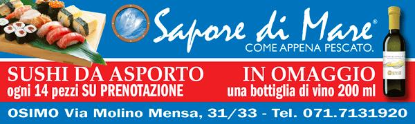 SAPORE DI MARE OSIMO BANNER 16 NOV 31 DIC 19