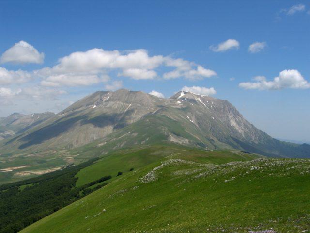 Monte Vettore (Foto tratta da Wikipedia)