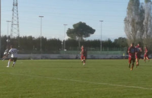 Un momento della partita tra Biagio Nazzaro Chiaravalle e Vigor Castelfidardo